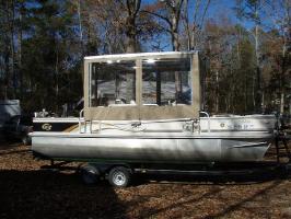 Custom Hard tops and enclosures Santee Cooper Catfish Guides